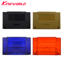 American version Replacement Plastic card 16bit shell Plastic Shell for Super for S-NES game Console card o ender s game