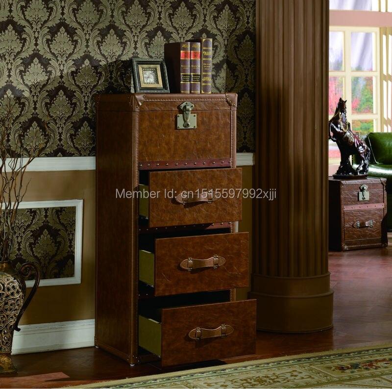 2019 Archivadores Para Sala Promotion salon armoires style américain armoire à vin meubles anciens nouveau modèle X23 - 2