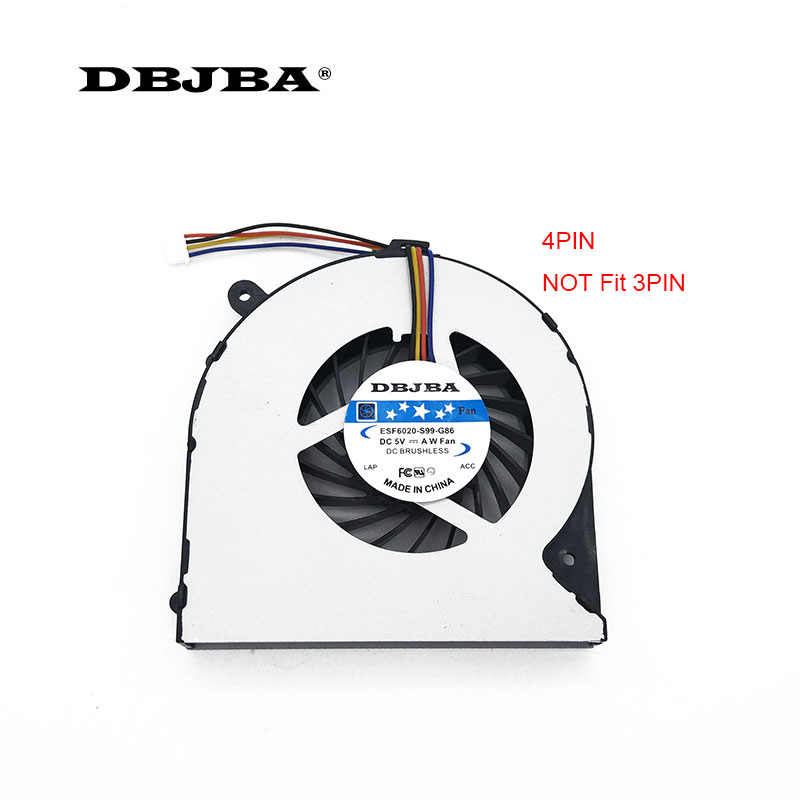 For Toshiba Satellite L850-B184 CPU Fan