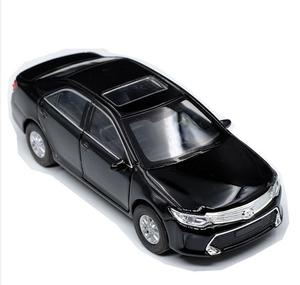 Image 2 - 1:36 alloy pull back Toyota Camry model, high simulation 2 open door car toys, metal castings, toy vehicles, free shipping
