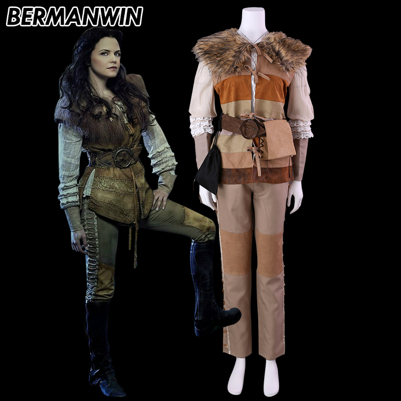 Once Upon A Time Costumes: BERMANWIN High Quality Once Upon A Time 2 Snow White