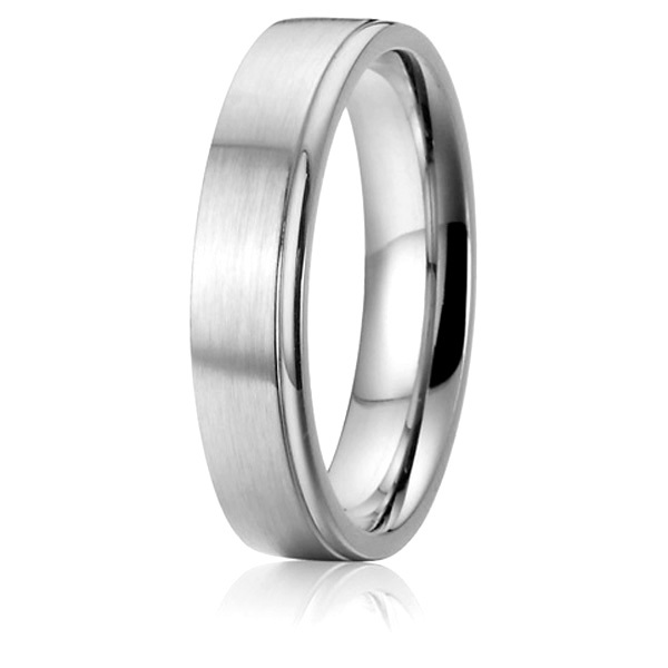 Custom Wedding Rings.Us 15 86 51 Off Custom Wedding Band Anniversary Promise Ring For Men Silver Color Pure Titanium Jewelry In Wedding Bands From Jewelry Accessories