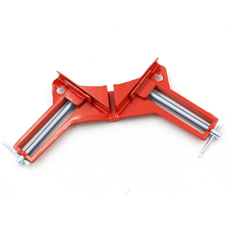 New 90 degree Right Angle Clamp Picture Frame Corner Clip 100MM Mitre Clamps Corner Holder Woodworking Hand Tools 4 inch