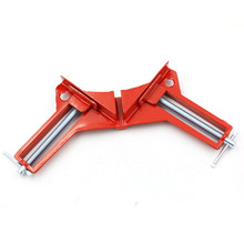 New 90 degree Right Angle Clamp Picture Frame Corner Clip 100MM Mitre Clamps Corner Holder Woodworking Hand Tools 4 inch(China)