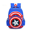 mochila escolar menino backpack kids School Bags Alleviate Burdens Boys School captain america Backpacks children school bags