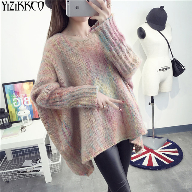 Women Sweater 2017 Spring New Fashion Knitted Pullovers High Quality Solid Sweaters O-Neck Pull Femme Sweter Mujer SZQ116