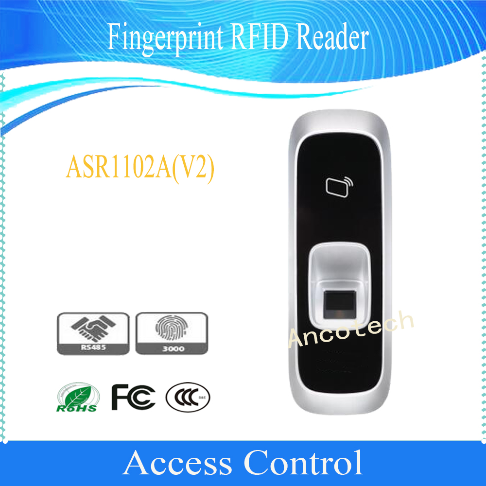 Free Shipping DAHUA Access Control Fingerprint Reader 125KHz Support card RS 485 protocol DHI ASR1102A D
