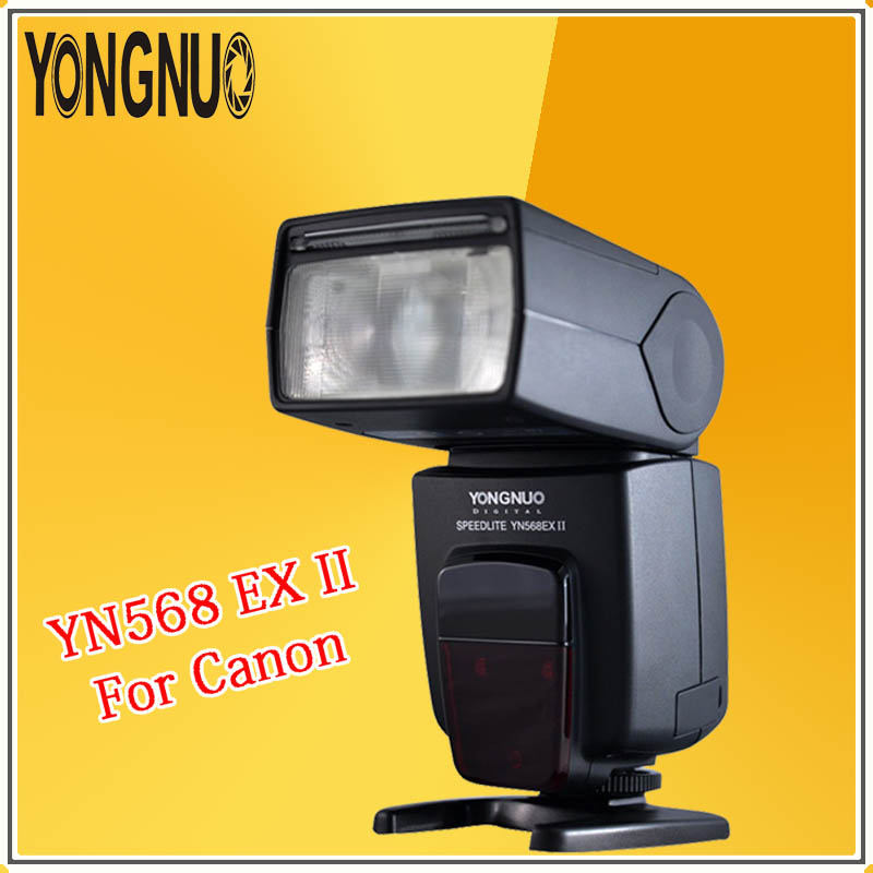 YONGNUO YN568EXII YN568EX II 2.4G Wireless TTL Flash Speedlite With High Speed Sync For Canon 1Dx 5DII 7D 60D 50D 40D 30D 700D yn e3 rt ttl radio trigger speedlite transmitter as st e3 rt for canon 600ex rt new arrival
