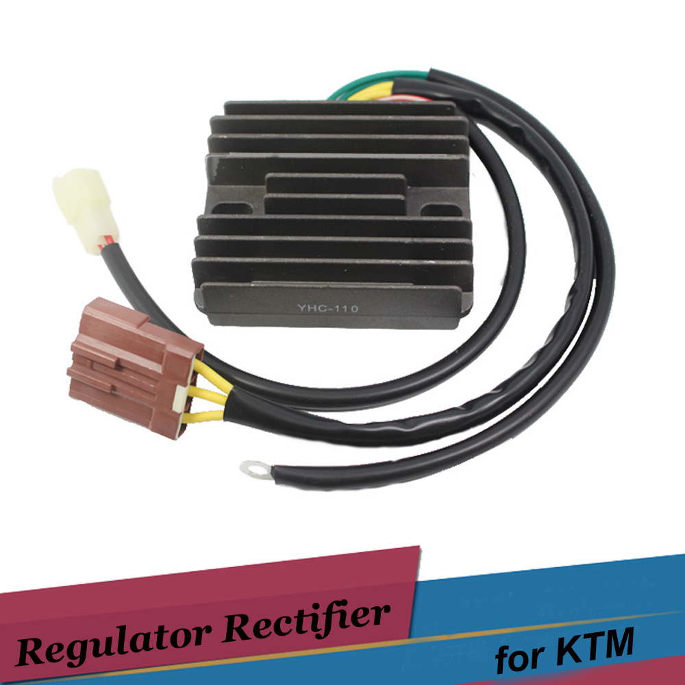motorcycle voltage regulator rectifiers dc 12v for ktm. Black Bedroom Furniture Sets. Home Design Ideas