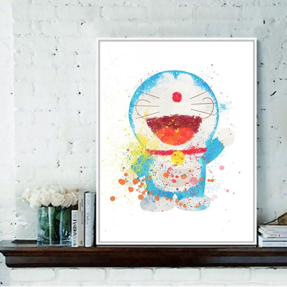 Lukisan Dinding Doraemon Sabalukisan