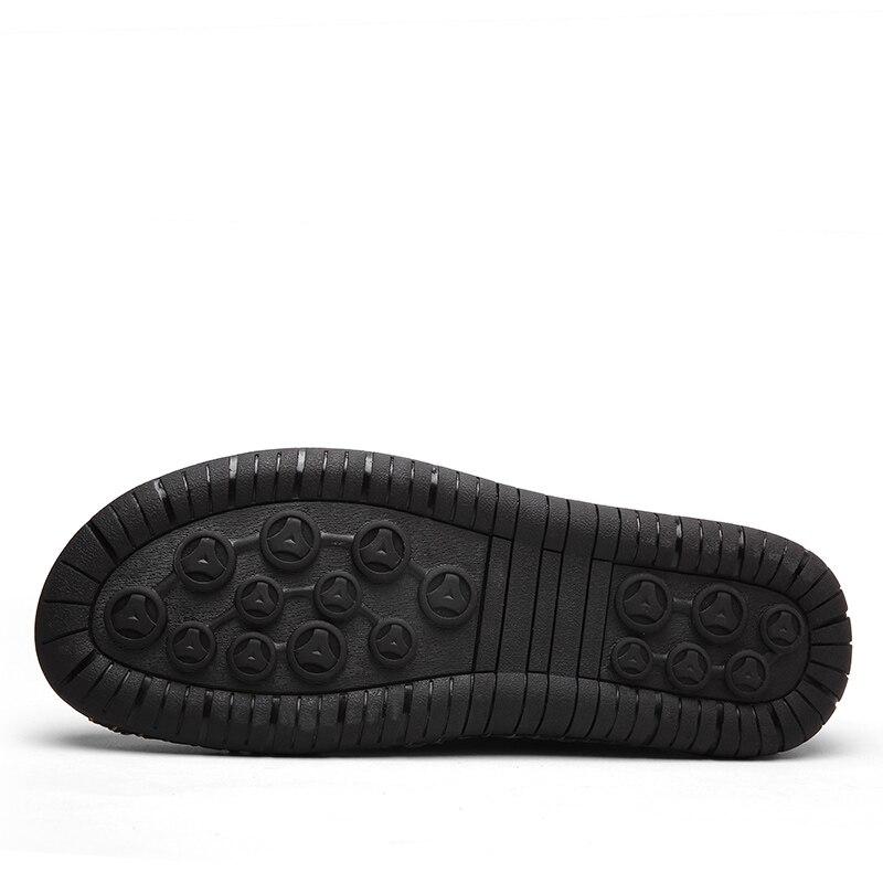 Image 4 - ZUNYU/Новая мужская повседневная обувь, большие размеры 38 48 демисезонные лоферы, мужские Мокасины Мужская обувь из натуральной кожи на плоской подошве Брендовая обувь-in Мужская повседневная обувь from Обувь
