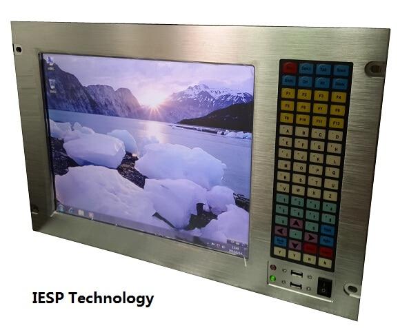 Computador industrial de montagem em rack 7U, LCD de 15 polegadas, - Computadores industriais e acessórios - Foto 4
