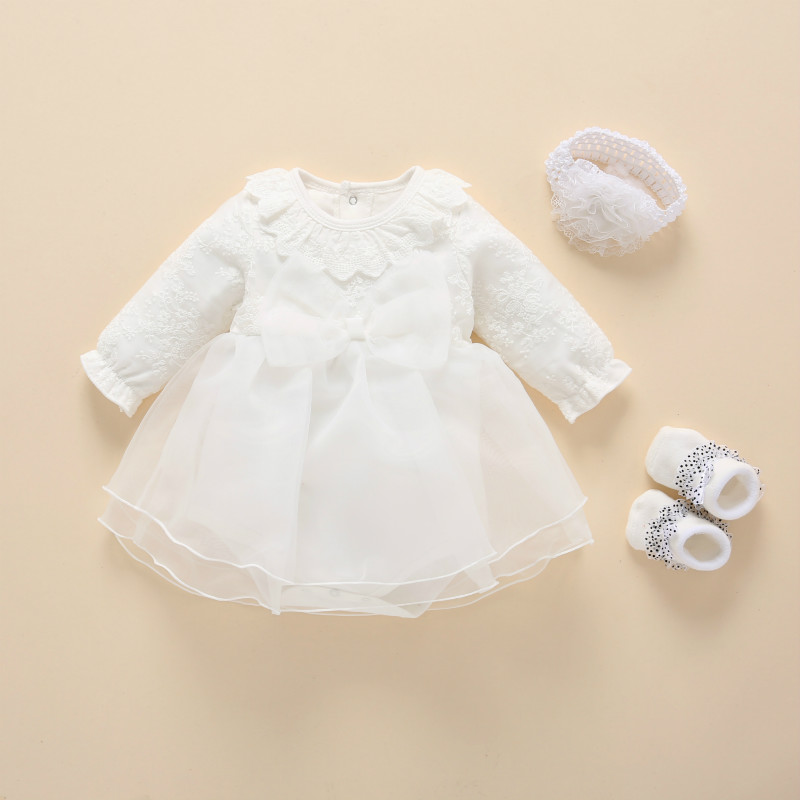 NEW Baby Girl /& Toddler Christening Baptism Dress Gown  New Born to 30 Months