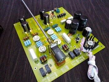 High-end Hi-Fi Valve&Vacuum Tube Pre-Amplifier Audio Stereo HiFi Preamp Board Large PCB Reference Kondo-M7 Circuit