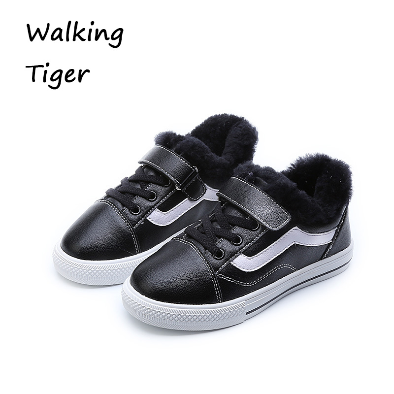 Girl and boy loafers shoes sneakers slip-on girls winter kid casual boys shoe black breathable children flats sporting shoes baijiami 2017 new children solid breathable slip on pu casual shoes boys and girls spring summer autumn flat bottom shoes