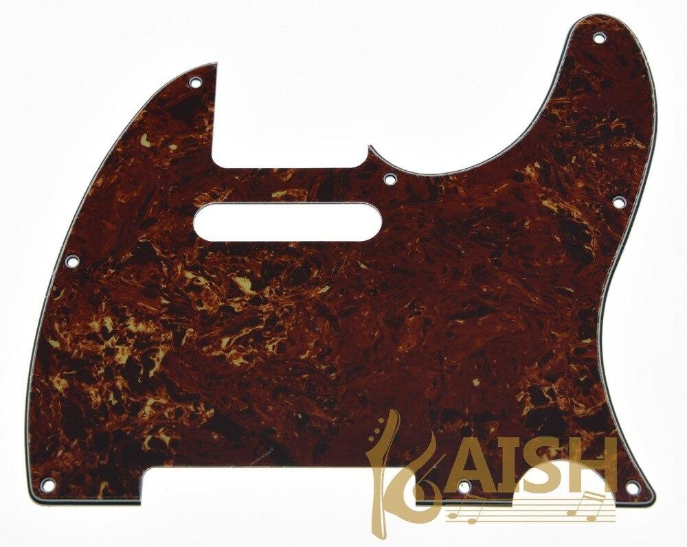 Guitar Pickguard Scratch Plate Vintage Tortoise Fits TL Guitar