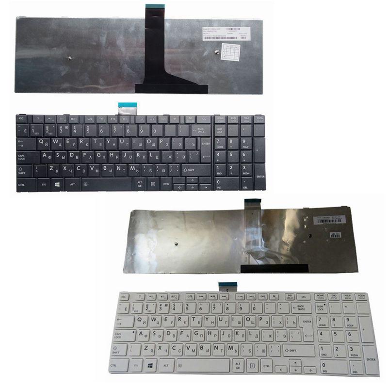 GZEELE NEW RU Keyboard For Toshiba Satellite C50D C50-A C50-A506 C50D-A C55 C55T C55D C55-A C55D-A Russian Laptop Keyboard