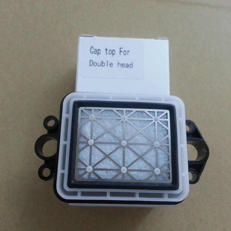 10 pcs grosir Eco solvent plotter untuk Epson DX5 capping station/GZ Gongzheng Thunderjet cap top DX5 DX7 kepala capping