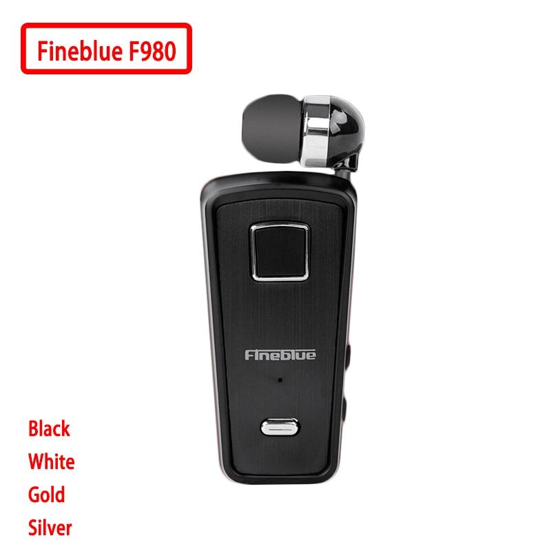 Novedad 2018 Fineblue F980 inalámbrico en la oreja manos libres con micrófono auriculares Mini Bluetooth