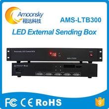 groothandel prijs LED display controller LED verzendende kaartdoos met helderheidsaanpassing en DVI splitter LTB300