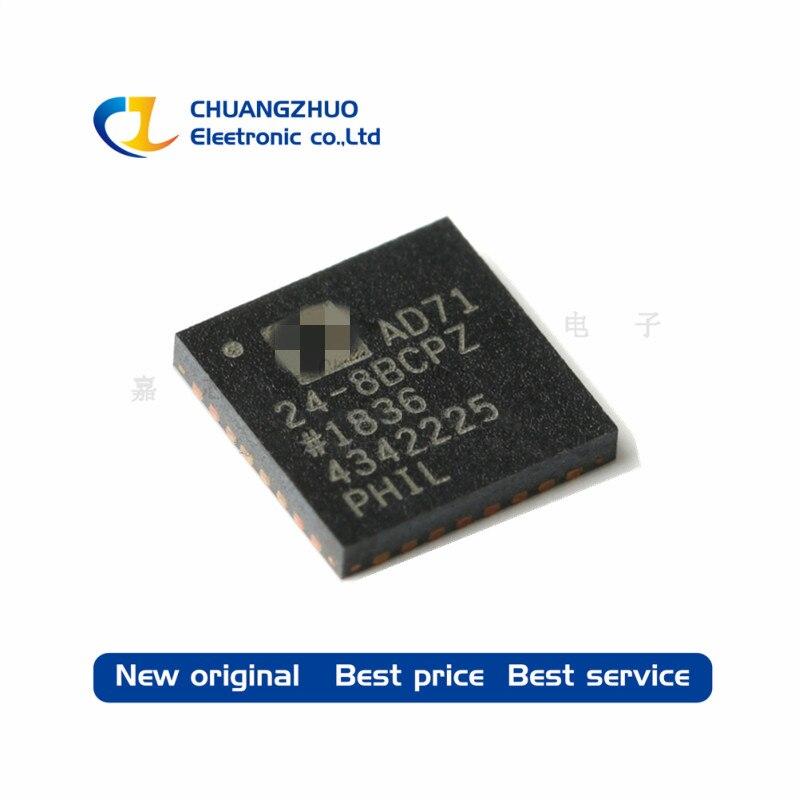 New Original AD7124-8BCPZ-RL7 AD7124  ADC 24BIT 8CH S/D 32LFCSP