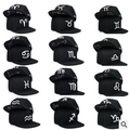 12pcs free shipping/2015-A933    zodiac embroidery  baseball cap Men & Women snapback hip-hop hat