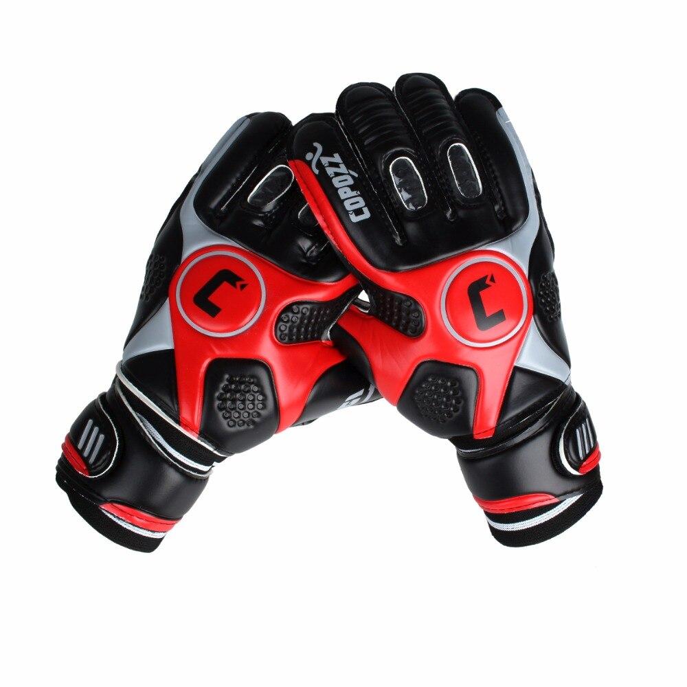 3c33c52b58 Merek Profesional Sepak Bola Kiper Sarung Tangan 4 Mm Tebal Senior Lateks  Jari Ganda Perlindungan Keeper Sarung Tangan di Sarung Tangan Sarung Tangan  dari ...