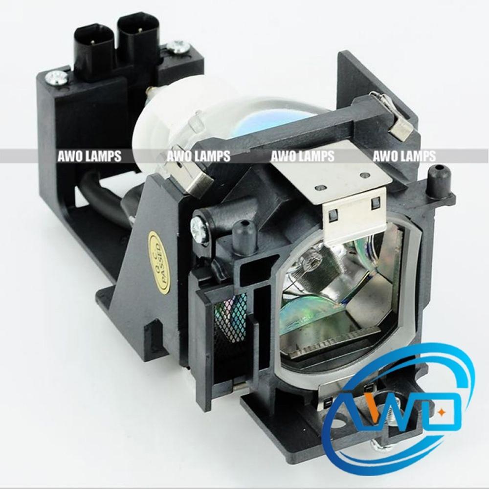 Lámpara de proyector de repuesto de calidad AWO LMP-E180 con carcasa para SONY VPL-CS7 / ES1 / DS100