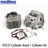 Motorcycle Engine Cylinder Barrel Head & Cylinder Gaskets Kit for YX125 125CC Atv Bike OEM