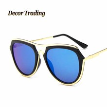 Round Circle Sunglasses Retro Vintage Sun glasses for Women Brand Designer Sunglasses Female Oculos font b