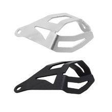 Motorcycle Rear Brake Pump Fluid Tank Reservoir Guard Protector Cover OIL CUP For BMW R1200 GS R1200GS LC ADV 2014-2017 motorcycle rear brake fluid reservoir guard cover protect accessories protector cap for bmw r1200gs r1200 gs lc adv adventure