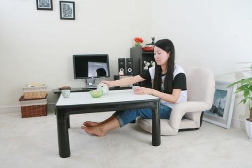 котацу стол мебель 75 см обратимым топ белый/черный складные ножки низкий японский небольшой современный с подогревом ноги теплые котацу стол