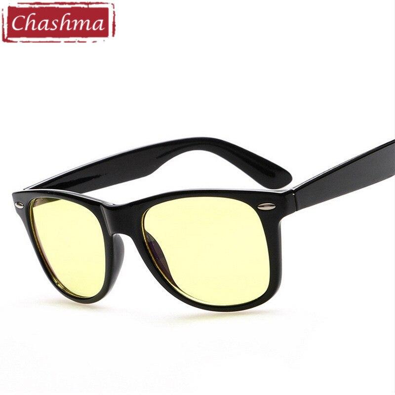 45abe3c6d0f Chashma Classic Design Yellow Lenses Computer Glasses Women Slim Style Resin  Eyewear Anti Radiation Anti Blue Rays Glasses