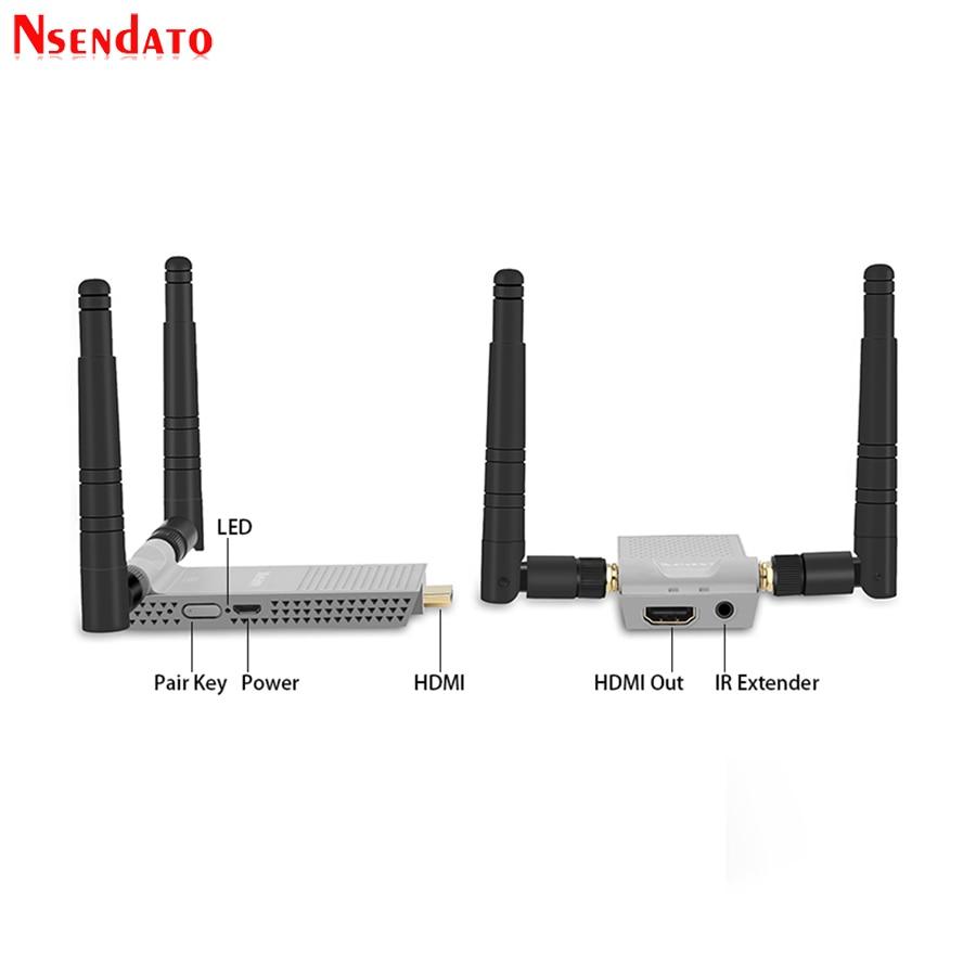 200M Wireless Wifi HDMI Extender (4)