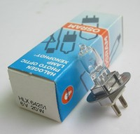 OSRAM HLX 64251 6V 20W PG22 HALOGEN PHOTO OPTIC LAMP XENOPHOT MADE IN GERMANY ESA 50hrs OSRAM 64251 6V20W