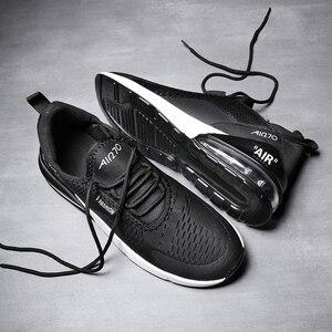 Image 3 - זוג מקרית ספורט נעלי 2018 סתיו והחורף חדש גברים של כרית אוויר ריצה נעלי גברים ונשים מזדמנים לבן נעלי סניקרס