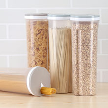 37586078fca3 YINUO High Quality Kitchen Sealed Case Plastic Food Storage Grain Dried  Fruit Bottles Cookie Jar Tank Organization Box