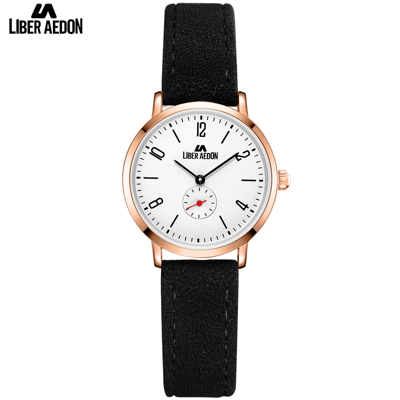 Liber Aedon Leather Band Women Watches 2017 Top Brand Luxury Fashion Waterproof Quartz Watch Women Female Clock Relogio Feminino evans v dooley j wright s information technology book 1 учебник