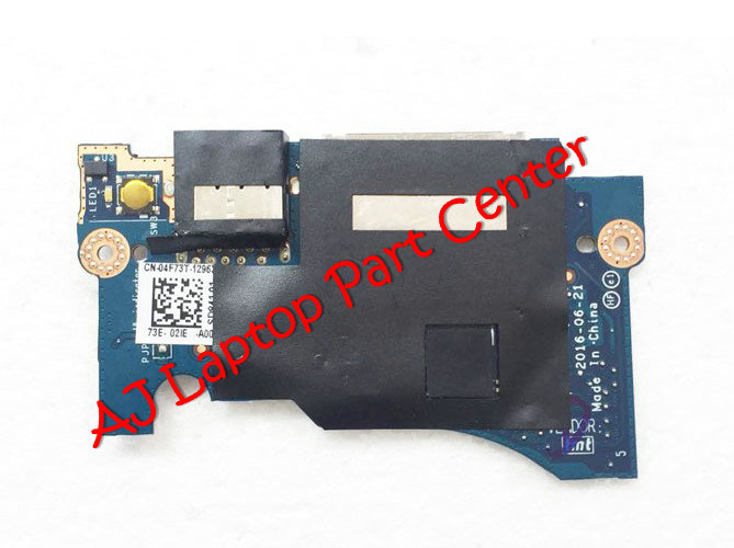 Devoted Original For Dell Xps 13 9360 Usb Board Power Switch Button Board Ls-d841p Cn-04f73t Modern Techniques Computer & Office