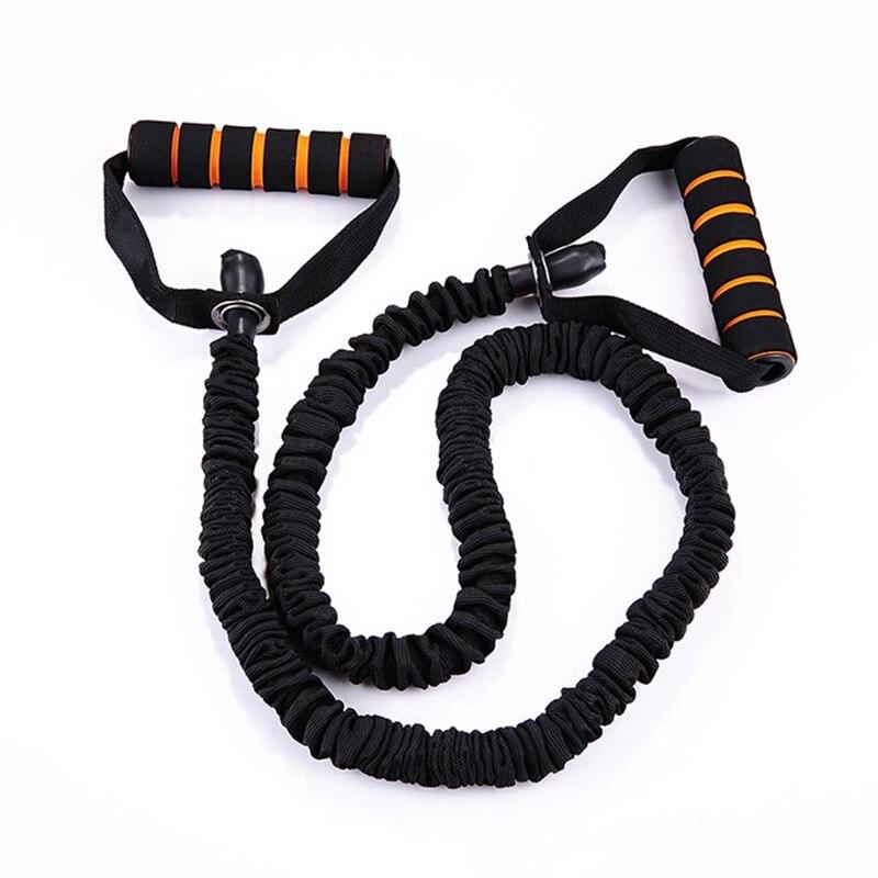 120 cm Yoga bandas elásticas para Fitness cuerda bandas de resistencia ejercicio entrenamiento gimnasio entrenamiento Pilates caucho