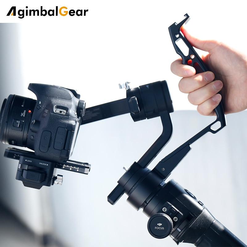 Gimbal Accessories Inverted Handle Sling Grip Neck Ring Mounting Extension Arm for DJI Ronin S Zhiyun Crane 2 /Plus Feiyu AK4000 1