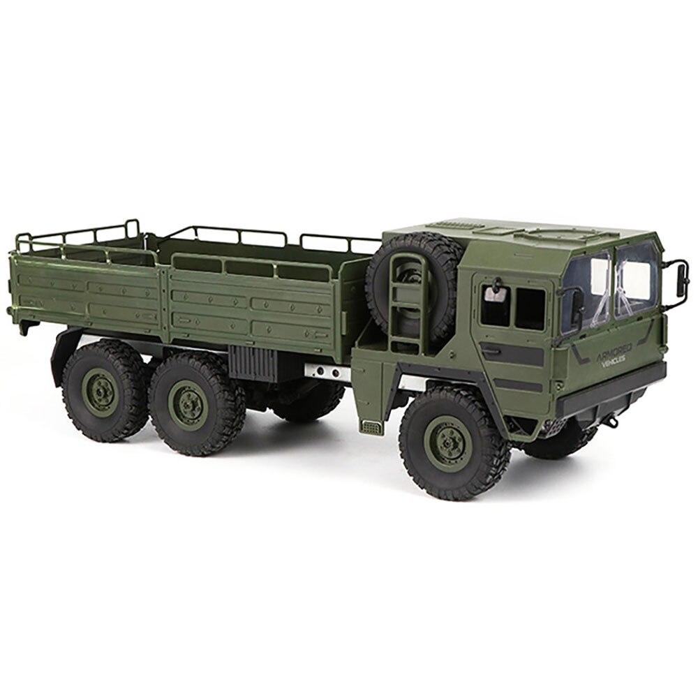 الأصلي JJRC Q64 RC سيارة 1/16 2.4G 6WD العسكرية شاحنة على الطرق الوعرة روك الزاحف لعبة 6 عجلات سباق لعب للأطفال الاطفال هدايا-في سيارات تعمل بالتحكم عن بعد من الألعاب والهوايات على  مجموعة 3