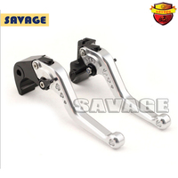 For BMW R1200R R1200S R1200ST R1200 RT/SE Motorcycle Accessories CNC Billet Aluminum Short Brake Clutch Levers Silver