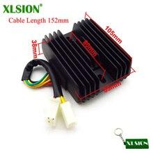 Xlsion CF250 Регулятор выпрямителя 6 проводов для 250cc спирали CN250 Roketa MC-54 Jonway YY250T Мопед Скутер ATV Quad