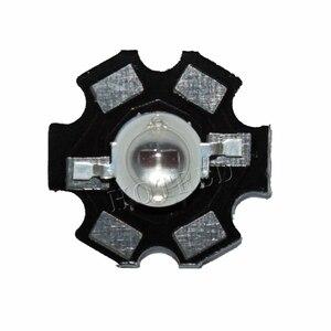 Image 5 - 50pcs 3W Led Diode 3W 5W Light 2 Chips 3W 5W led diode Emitter Blue 450nm UV Diode 395nm IR 730nm 740nm high power UV lamp PCB
