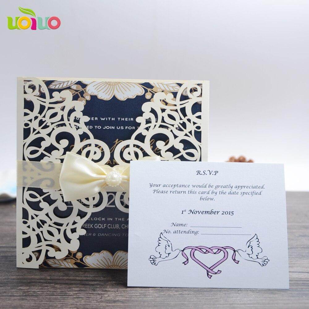 Elegant design royal wedding invitation card for europe flower lace 50 ensembles de dentelle traditionnelle de mariage carte dinvitation diffrentes couleurs faveur de mariage stopboris Gallery