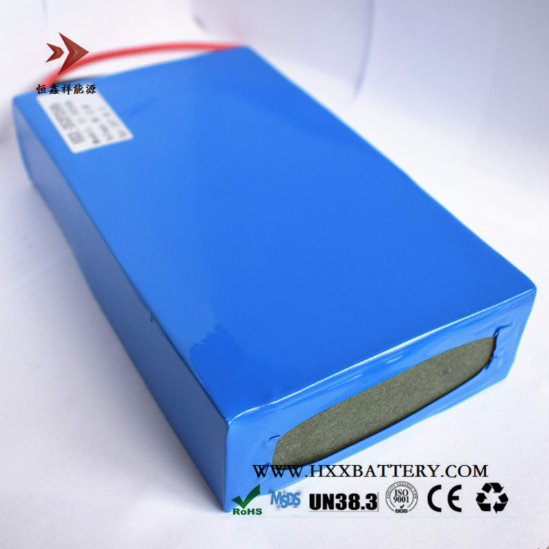 HXX 12V 20Ah Street Light Energy Storage Deep Cycle Li-ion Lithium Battery Pack 3 Series Blue PVC Package Need 12.6V Charger 12 6v8a 12 6v 8a intelligence lithium li ion battery charger for 3series 12v lithium polymer battery pack good quality