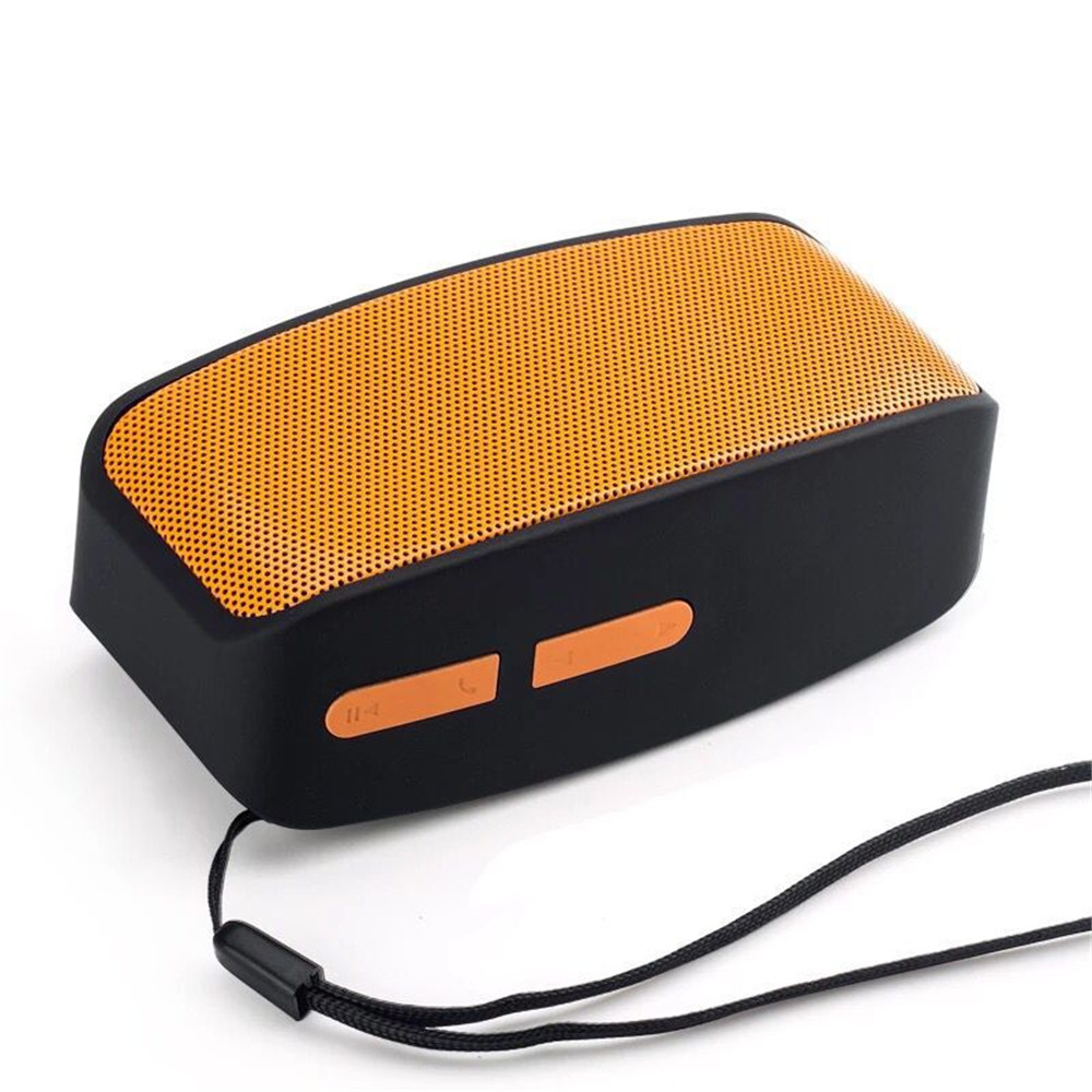 Portable outdoor Bluetooth card speaker N10 home computer mini gift small speaker ufo shape portable mini rechargeable bluetooth v2 1 speaker black orange