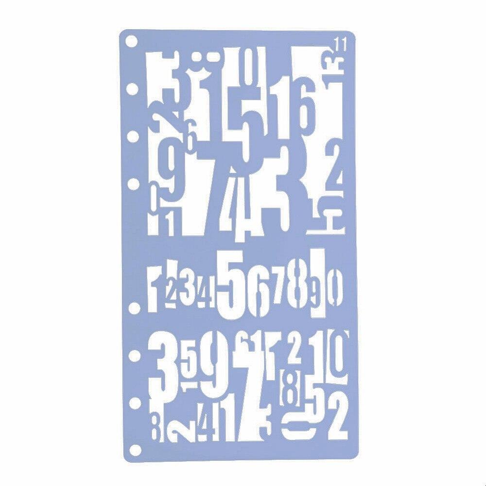 Изящные полые DIY крафт номер/рыба тема A6 страница шаблон для скрапбукинга DIY фото тиснение бумаги карточки инструменты