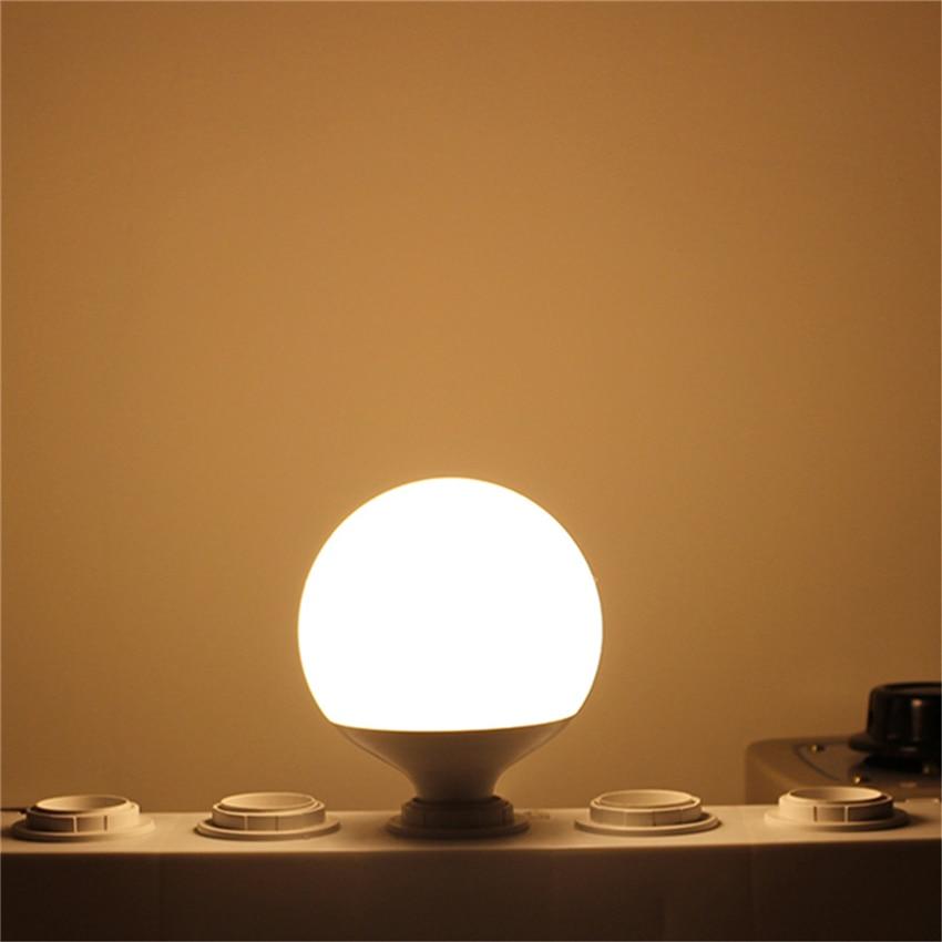 220V-240V Bulb Lamp E27 Lampada Led Global Light Real 20W Power 2835SMD Bombillas Energy Saving Lamps Ball Lights Chandelier